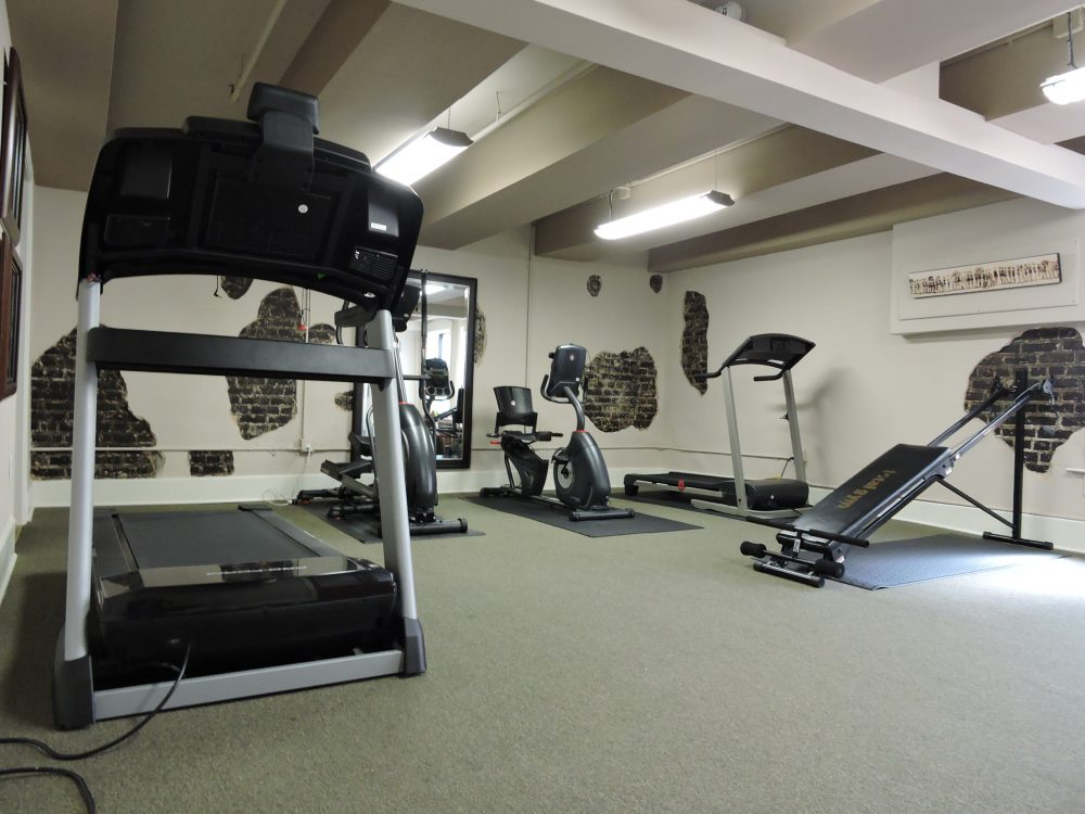 Fitness Room, Maintain your fitness by taking advantage of our onsite Gym
